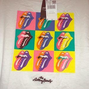 NWT Mango Rolling Stones Tee Small